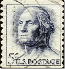 5 cent stamps