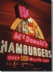 McDonalds 15 cents !