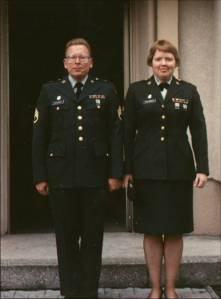 Dennis & Doreen circa 1990 in Germany