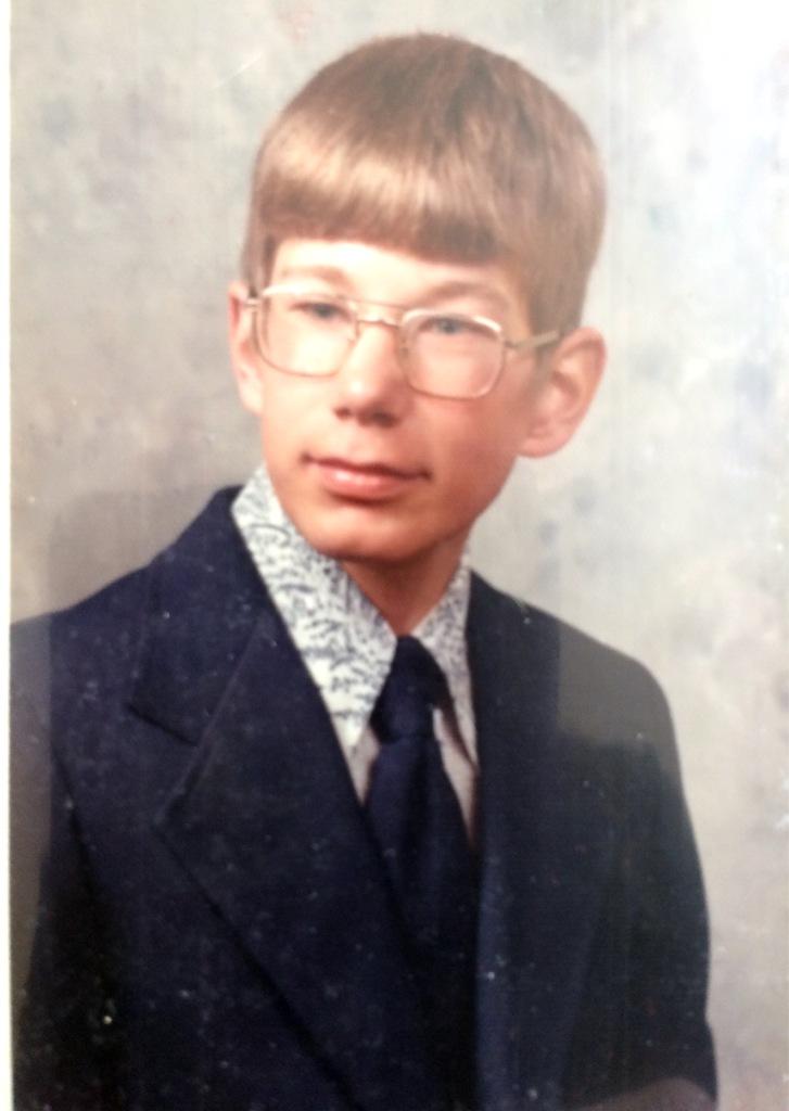 Brian school pic