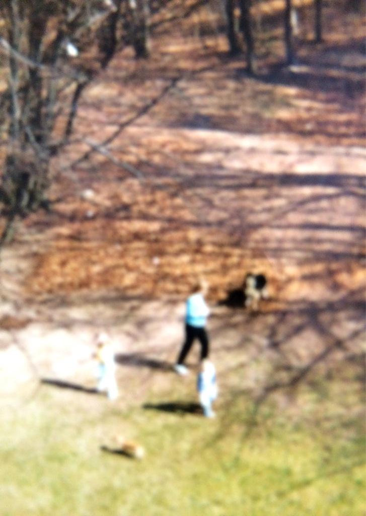 Doreen, kids, dogs Kaiserslautern circa 1987