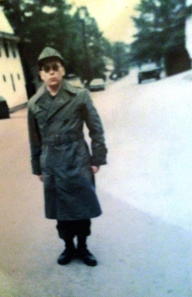 me at Fort Dix 1972