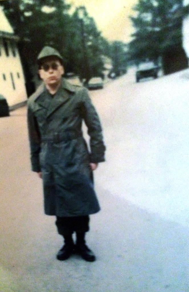 me at Fort Dix 1972