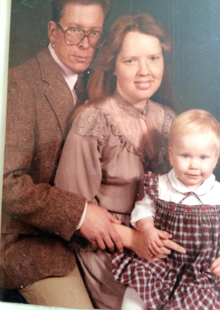 me Doreen, Daidy circa 1984