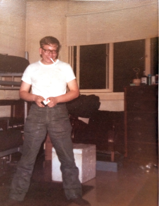 me in Korea barracks circa 1974