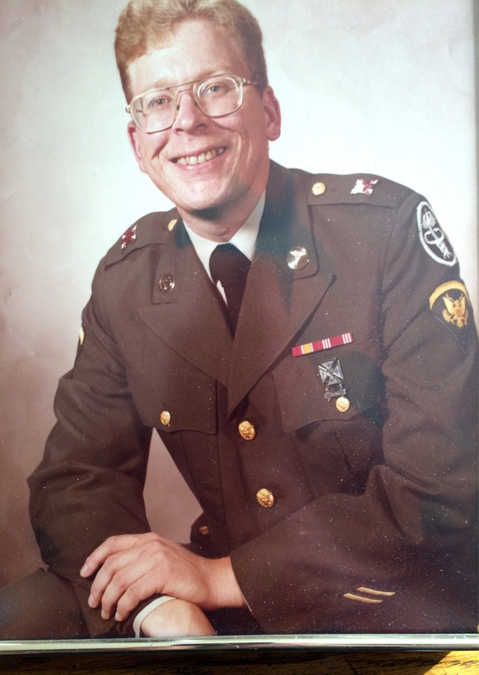 me in uniform circa 1980