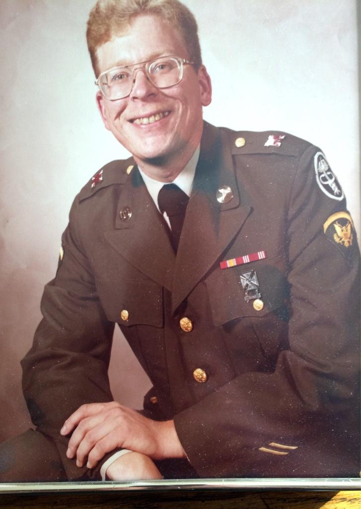 me in uniform circa 1980