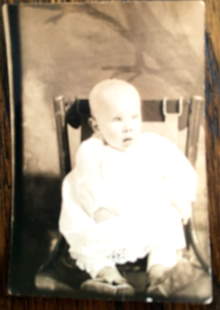 my Dad baby pic