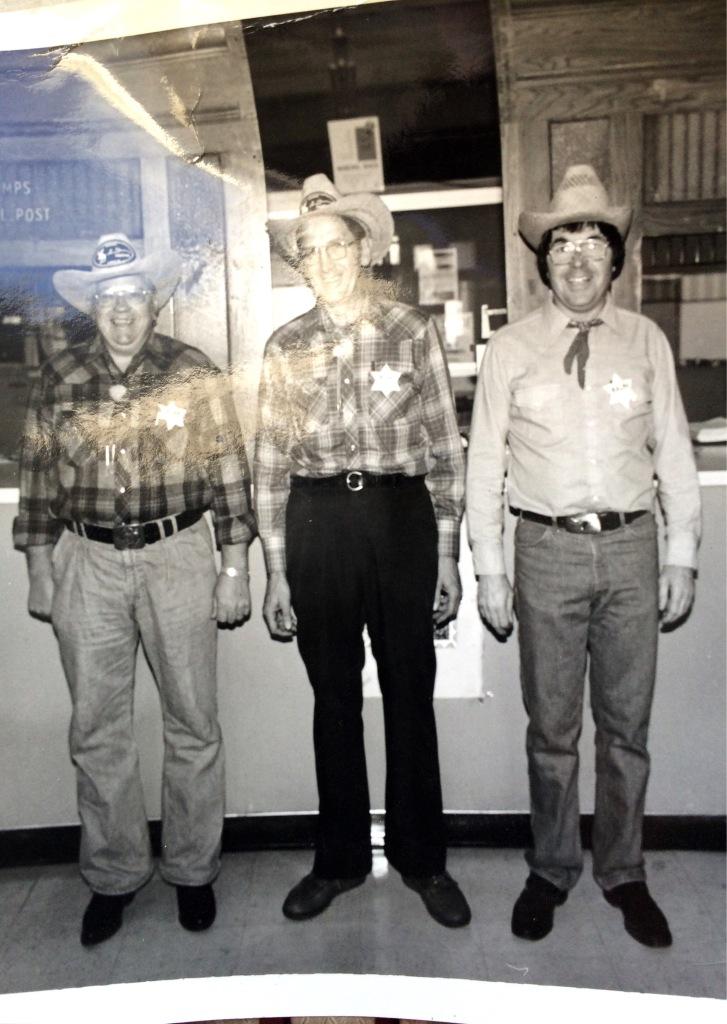 my Dad center circa 1970's