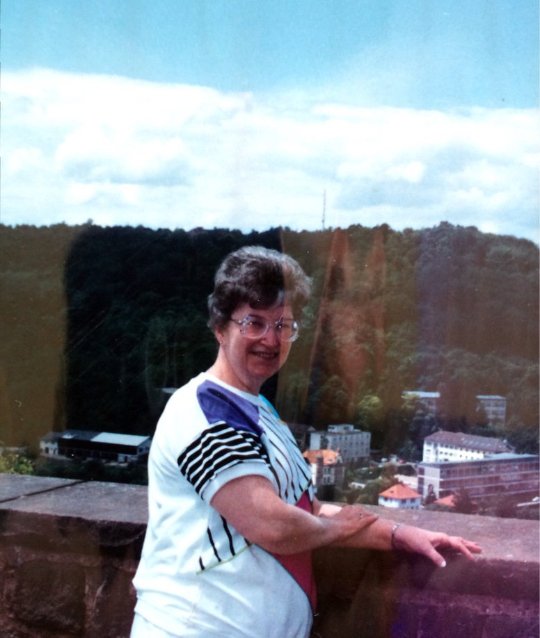 my Ma in Germany