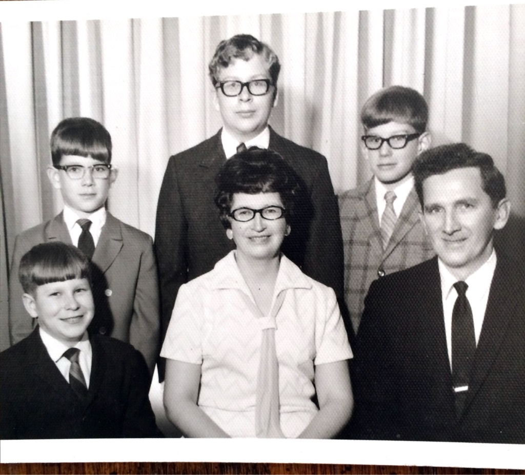 my parents and borthers circa late 1960's
